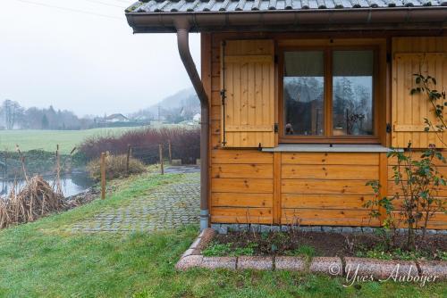 Notre chalet et sa terrasse